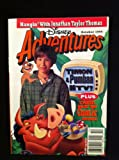 img - for Disney Adventures Hangin' With Jonathan Taylor Thomas! (October 1995, Volume 5, Number 14) (Disney Adventures, 5) book / textbook / text book
