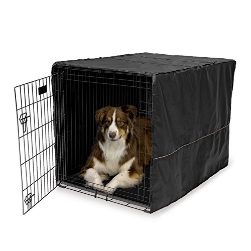 MidWest Black Polyester Crate Cover for 42 Inch Wire Crates, 42 Inches by 28 Inches by 30 Inches (Midwest Crate Cover compare prices)