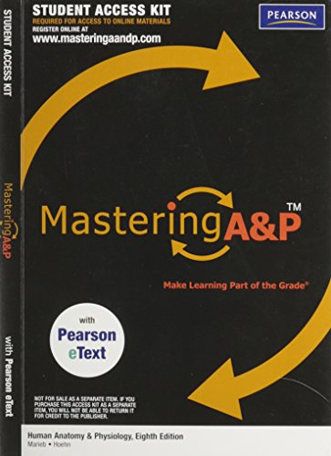 MasteringA&P with Pearson eText Student Access Kit for Human Anatomy &Physiology (ME component)