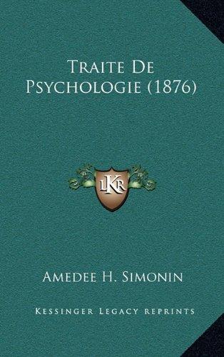 Traite de Psychologie (1876)