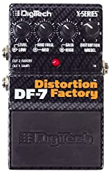 Digitech DF7 Distortion Factory 7 Different Distortion Models in One Pedal from Harman Music Group