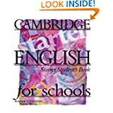 Cambridge English for Schools Starter Student's book