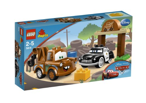 lego 5814 jeux de construction lego duplo cars martin et sheriff your 1 source for. Black Bedroom Furniture Sets. Home Design Ideas
