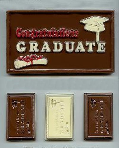 Graduation Cards Candy Mold