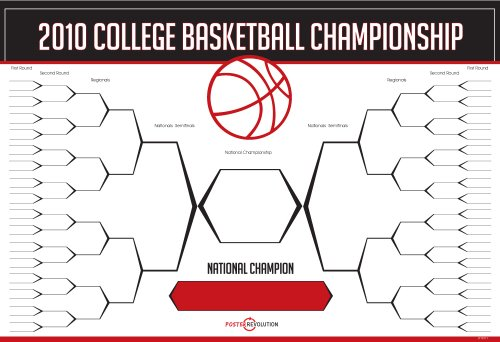 2010 March Madness Basketball Bracket