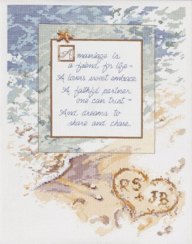 janlynn cross stitch kit a marriage is