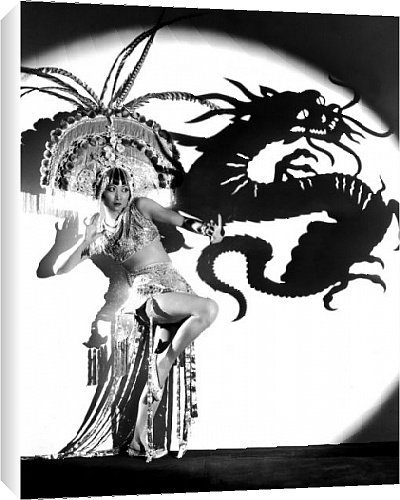 Canvas Print of Daughter Of The Dragon from Everett Collection