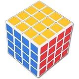 Sisweekly - Shengshou 3X3X3 Rubik's cube magique professionnel par Lujex -1 bracelet de gel de silice(couleur aleatoire) et StickersSet - First Choice For Beginners / Kids - Couleur Noir