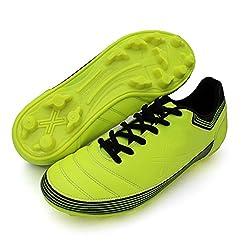 Vector X Chaser ll 001-M Football Shoes, Men's (Green/Black)