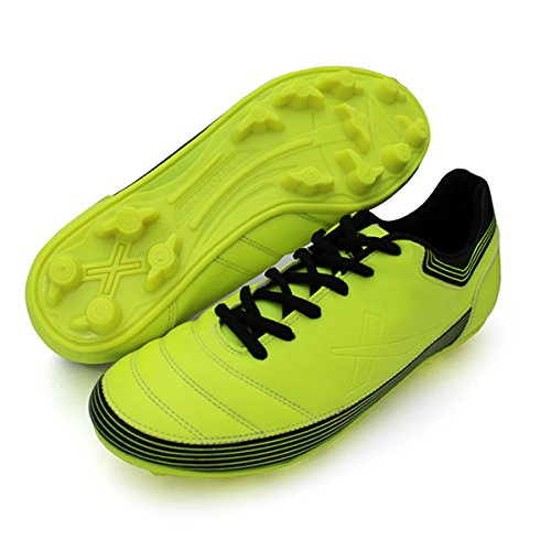 Vector X Chaser ll 001-M Football Shoes, Men's (Green/Black)