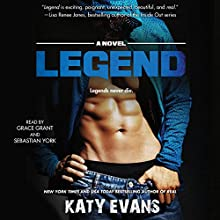 Legend: The REAL series, Book 6 Audiobook by Katy Evans Narrated by Grace Grant, Sebastian York