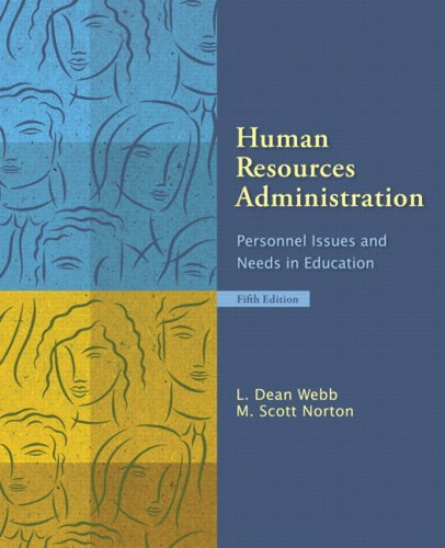 Human Resources Administration: Personnel Issues and...