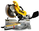 Dewalt - Model: DW718 Heavy-Duty Dual Bevel Sliding Compound Miter Saw, 12 Inch  15A  3,600 RPM