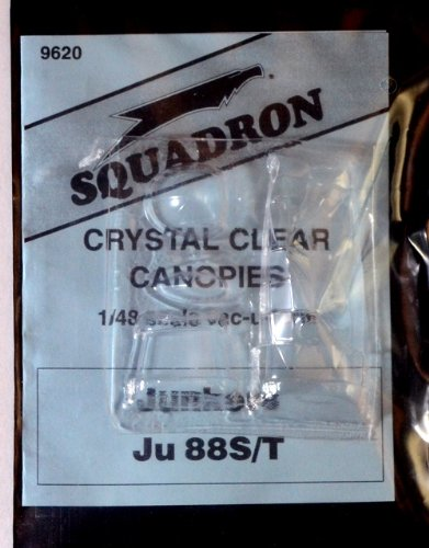 Squadron Products Ju 88S/T Vacuform Canopy