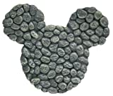 Design International Group LDG88095 Mickey Stepping Stone, River Rocks