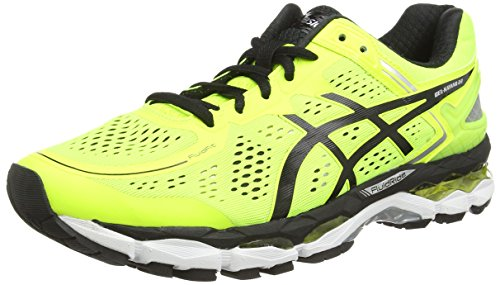 ASICS - Gel-Kayano 22, Scarpe Da Corsa da uomo, giallo (flash yellow/black/silver 0790), 43.5