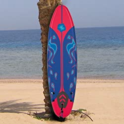 Best Choice Products® New 6' Foamie Board Surfboard Surfing Surf Board Perfect for beginners