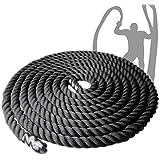 Hardcastle Single Battle Rope - 2 Sizes - 10m or 15m