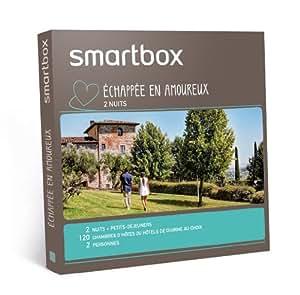 SMARTBOX - Coffret Cadeau - Echappée en amoureux (2 nuits)