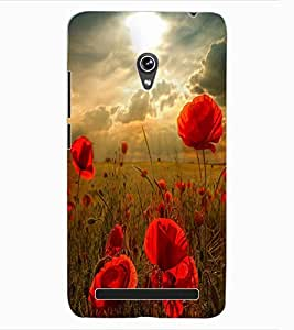 ColourCraft Lovely Roses Design Back Case Cover for ASUS ZENFONE 6 A600CG