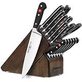 Wusthof Classic 16-piece Walnut Knife Block Set