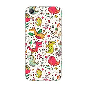 Garmor Designer Plastic Back Cover For HTC Desire 626