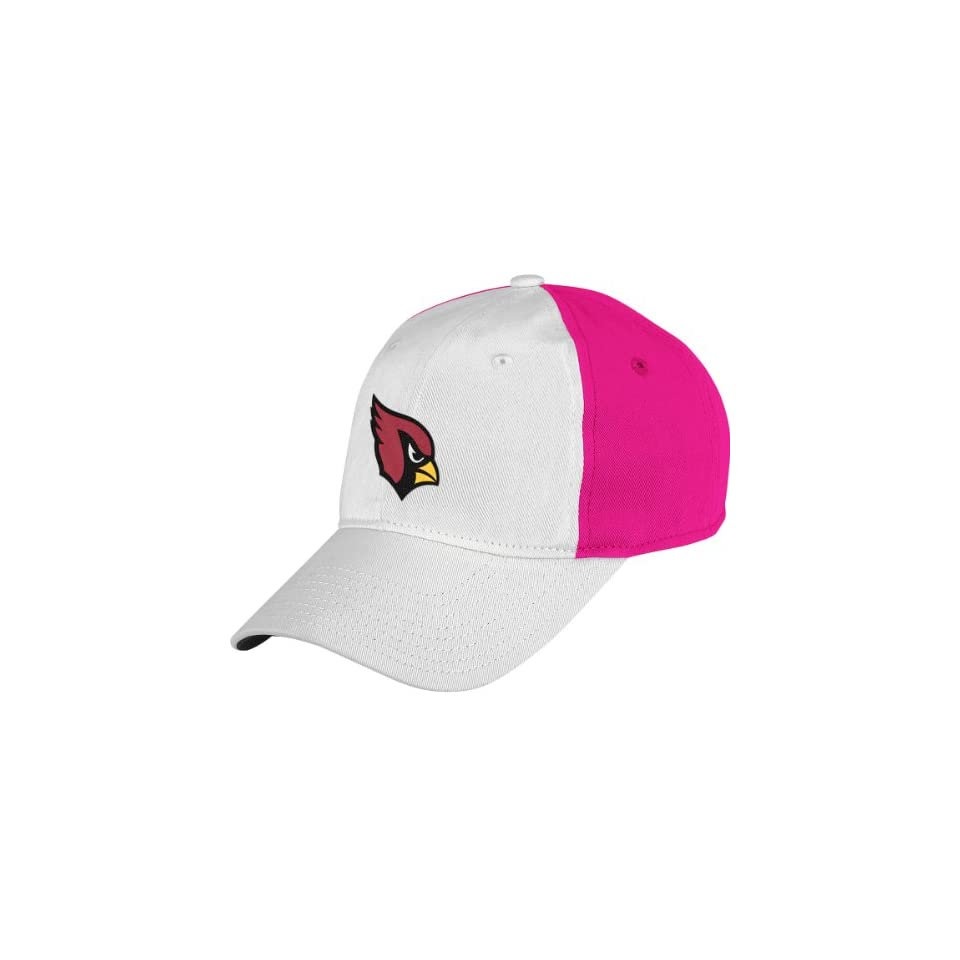 Reebok Arizona Cardinals Breast Cancer Awareness Womens Slouch Adjustable  Hat Adjustable 4d6b70941