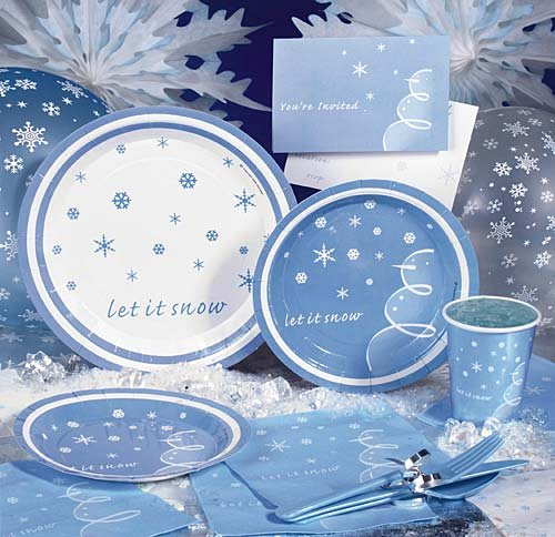 Let It Snowith Exclusive Invitation Package of 8 - 1