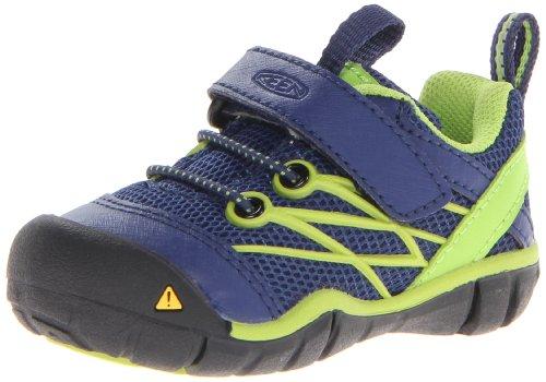 Keen Chandler Cnx Hiking Shoe (Toddler/Little Kid/Big Kid),Blue Depths/Lime Green,9 M Us Toddler front-952799