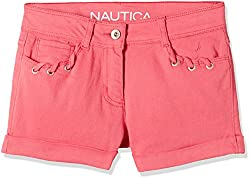 Nautica Kids Girls' Shorts (34G32B695_Rose_10)