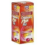 Rite Aid Pharmacy Flu, Children's Plus, Oral Suspension, Bubble Gum, 4 fl oz (118 ml)