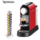 Nespresso CitiZ C110R C110 Citiz Fire Engine Red Espresso Machine With Swis ....