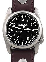 Bertucci A-4T Vintage 44 Titanium Watch with an Aviator Strap 13403