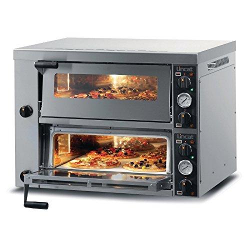Lincat Premium Range Pizza Oven Double Deck 886mm Power: 6kW. Dimensions: 675(H)x 886(W)x 902(D)mm