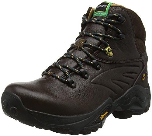 Hi-Tec V-Lite Flash Hike I Waterproof - Scarpe da Arrampicata Alta Uomo, Marrone (Chocolate/Core Gold 041), 42 EU