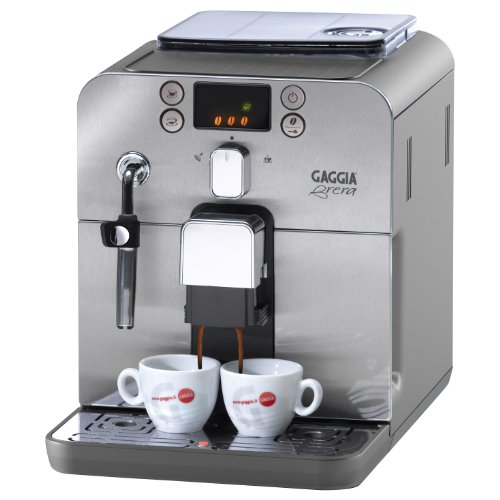 Gaggia Brera Superautomatic Espresso Machine, Silver