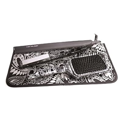 Corioliss C1 Paisley Style Kit  Hair Straightener (Silver)