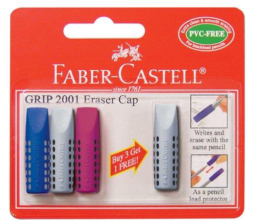 faber-castell-grip-2001-cappucci-gomma-per-cancellare-confezione-da-4-pezzi