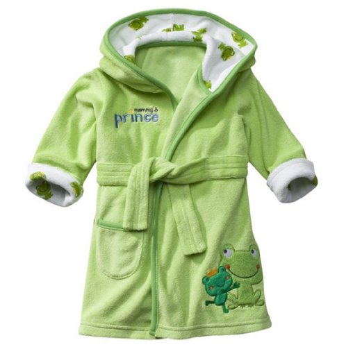 Carter'S Just One Year Baby Robe ((Frog) Green)