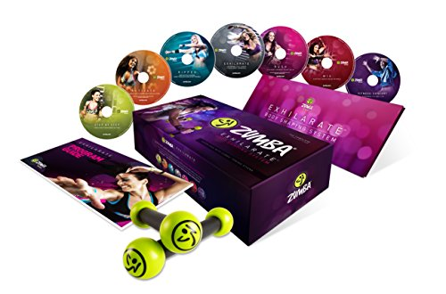 Zumba Exhilarate Body Shaping System DVD Set Image