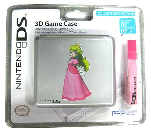 Nintendo DS, DS Lite - 3D Game Case, Prinzessin Peach, Nintendo DS