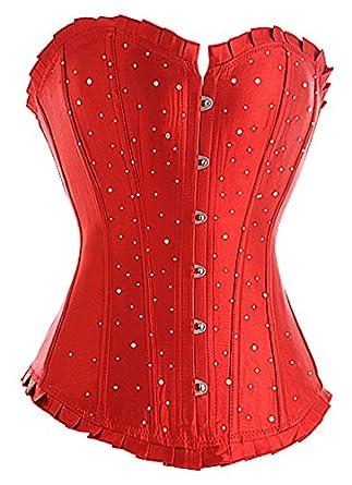 Corsets365 Corset 36 (S) Rouge 2037