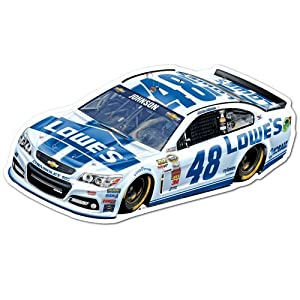 Jimmie Johnson Nascar #48 Car Sign-8x17 by WinCraft