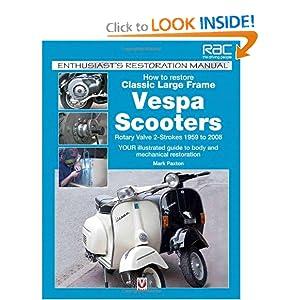 Vintage Vespa shoulder patch Scooter Photo Keychain Great Gift