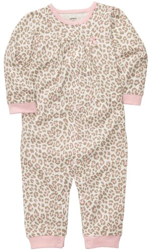 Carter's Baby-girls Leopard Jumpsuit Image