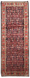 3.9 x 9.7 Runner Handmade Knotted Persian New Area Rug From Iran/Persia - 46805