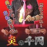 【お札マジック】 炎の千円 解説DVD付