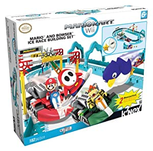 Nintendo Mario and Bowsers Ice Race Building Set