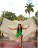Sunnydaze American DeLuxe Style Mayan Hammock, 55 Inch Wide x 149 Inch Long