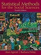 Statistical Methods for the Social Sciences…